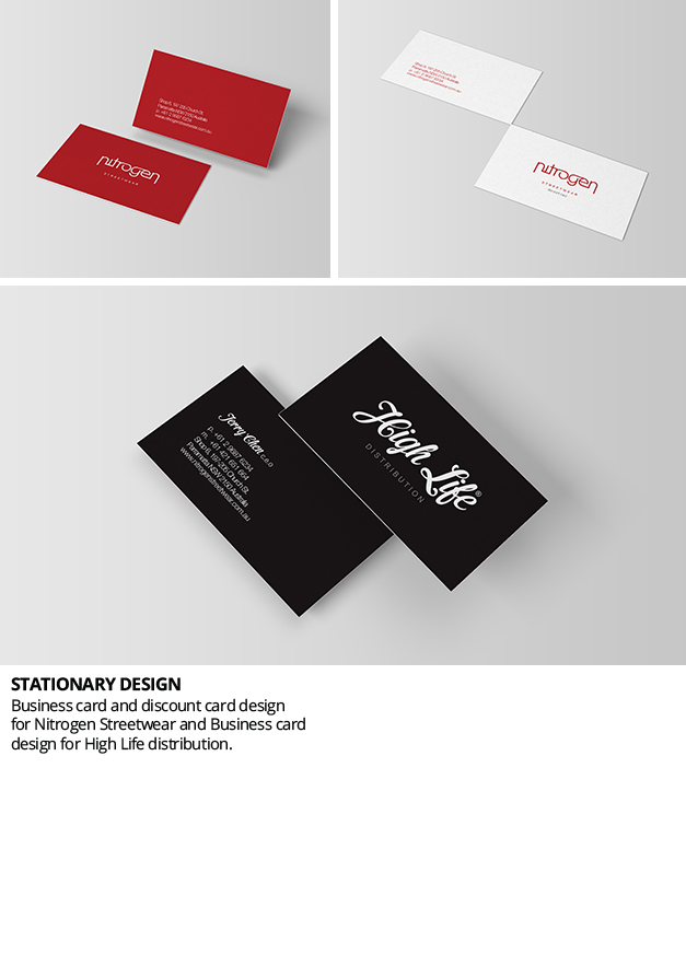 Business & discount card design